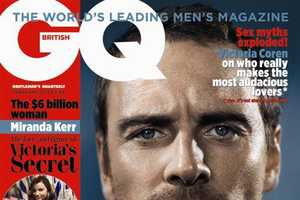 The Monochromatic Michael Fassbender British GQ Photos are Simple Yet Sultry