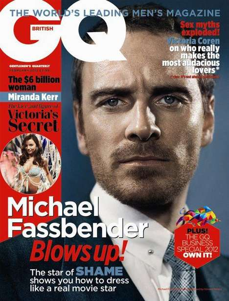 Michael Fassbender British GQ