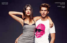 Carefree Couple Campaigns - Fashionation by Peek & Cloppenburg Spring/Summer Collection is Hot
