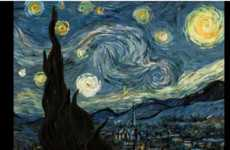 Moving Melted Masterpieces - The Interactive Starry Night is Mesmerizing