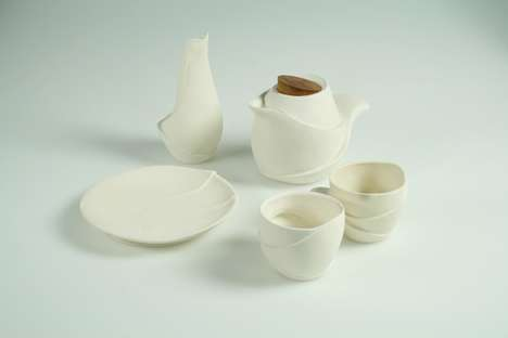 Wavy Tea Set by Patricia Wong