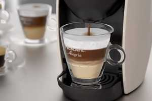 The Nescafe Alegria is Specifically Designed for Small European Establishments