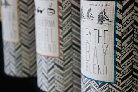 San Francisco Coffee Co Packaging