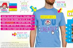 You Could Win $5,000 With Wendy Threads T-Shirt Design Contest
