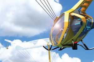The Sky Voyage Uses a Balloon to Fly Instead of Spinning Blades