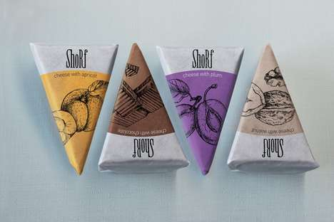 Shorf Cheese Packaging