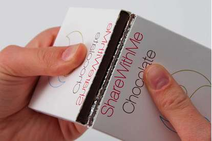 ShareWithMe Chocolate Packaging