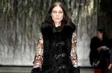Opulent Fur-Obsessed Outerwear