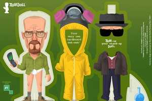 The Limited Edition Breaking Bad and Mad Men Doll Sets by Trimdoll
