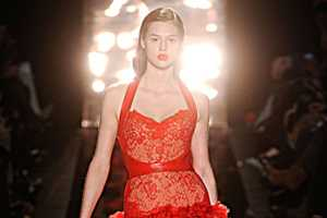 The Monique Lhuillier Fall 2012 Collection is Sultry and Stunning