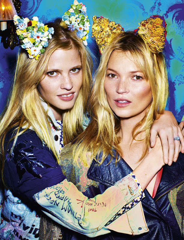 Bunny-Eared Beauties Editorials