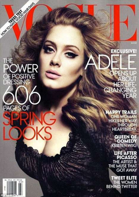 Adele US Vogue Cover