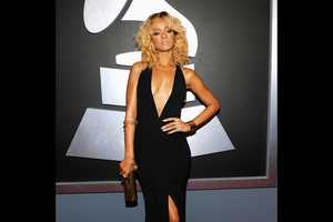 The 2012 Grammy Red Carpet Saw Plenty of Seductive Black Outfits