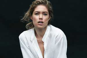 Harper's Bazaar March 2012 Features a Whiteout Doutzen Kroes Editorial