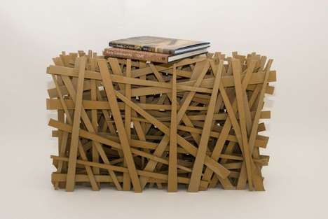 Tangled Trellis Tables - The # 035 Table by Tom Cecil Adds Intricacy to Your Interior Decor