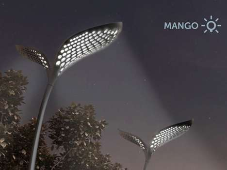 Leafy Resource Reapers - Mango by Adam Miklosi Makes Efficient Use of the Sun and Falling Rain