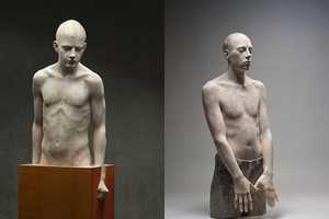 Bruno Walpoth Chisels Life-Like Statues Using Lime & Walnut Wood