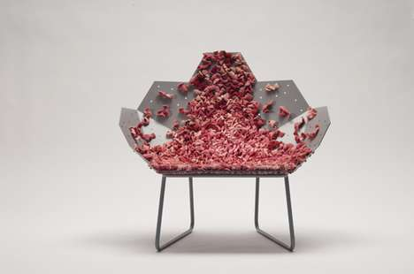 Blush Chair by Brunner Studio