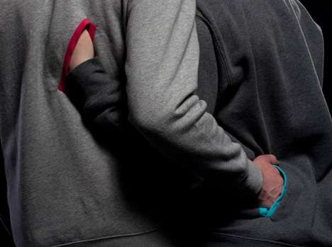 Intimacy-Inviting Shirts - Touchables by Drew Stanley Encourages Physical Contact