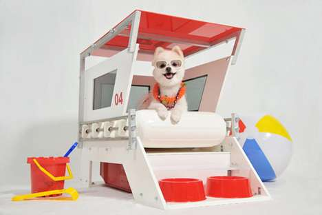 Lifeguard Doghouse
