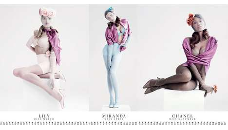 VMAN 25 Calendar Girls