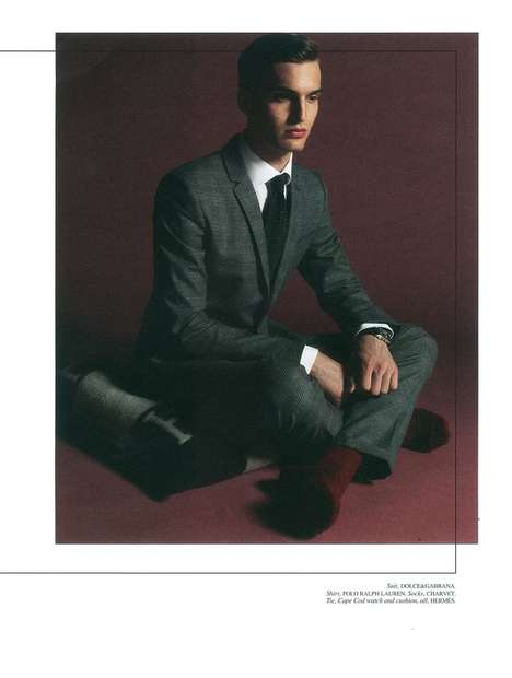 Florian A Fashion for Men Paris Editorial