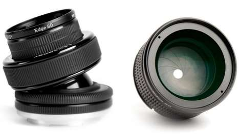 Tilting Camera Lenses - The Edge 80 Optic Gives Photography an Artistic Touch