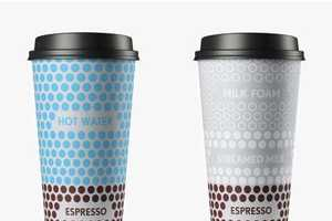 16 Daring Disposable Coffee Cups - From Argyle Brew Branding to Communicative Coffee Cups