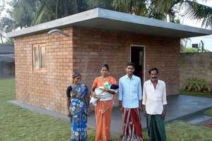 Each WorldHaus is Built in 10 Days and is Designed for the World's Rural Poor