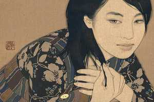 Ikenaga Yasunari Uses Expensive Element as a Medium