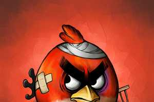 Angry Birds by Scooterek Has the Gang Bruised and Sore