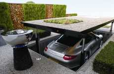 Luxurious Elevator Garages - The Cardok Multi is the Perfect Accessory for A Secret Agent