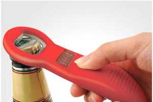 The Beer Tracker Bottle Opener Lets You Know When to Slow Down