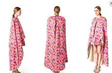 Draped Floral Fashion