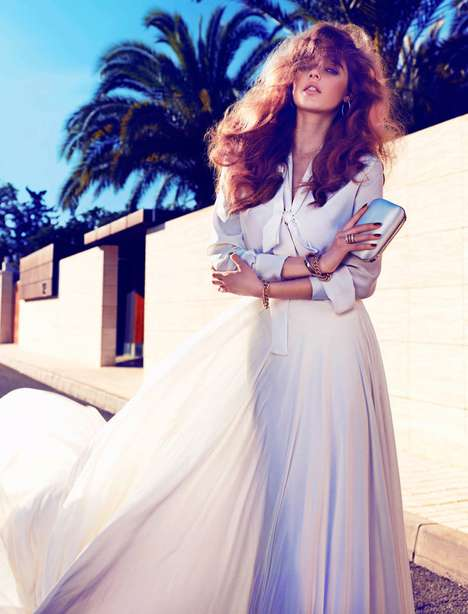 Beegee Margenyte for Vogue Spain Brides