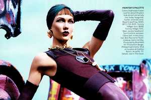 Karlie Kloss Rocks Fierce Textures for a Vogue US March 2012 Editorial