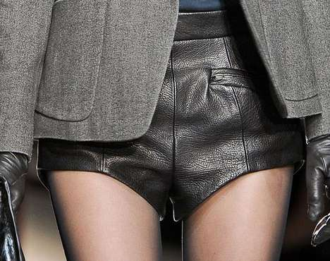 Gothic Grunge Ensemble Detailing - The Theyskens Theory FW 2012 Collection is Laid-Back Rebellious