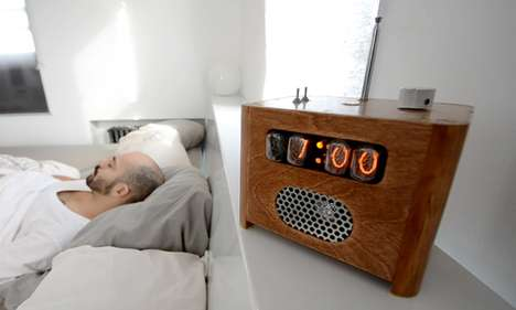 Panel Locked Alarm Clocks