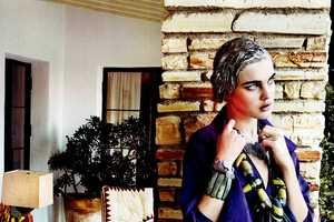 Mario Testino Captures Natalia Vodianova for Vogue Us March 2012