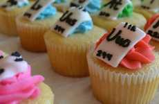Scientific Element Confections - The Periodic Table of Cupcakes is Educational & Delicious
