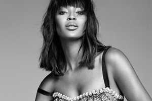 Naomi Campbell Stars in an Editorial for Harpers Bazaar March 2012