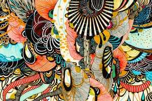 Yellena James' Etsy Creates a Brilliant Wonderland of Colors