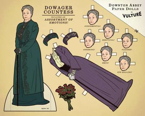 Downton Abbey Paper Dolls