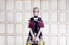 Living Doll Couture - The Sui He AnOther Magazine Editorial Features Eclectic Prints