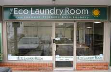 Experience-Creating Cleaners - The Eco Laundry Room Has a Cafe, Kid's Play Area and Free WiFi