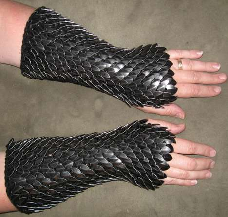 Dragon Hide Gloves - The Armored Arm Warmers from Crystal's Idyll are Stylish & Comfortable