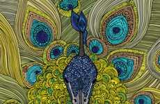 Henna-Like Animal Artistry