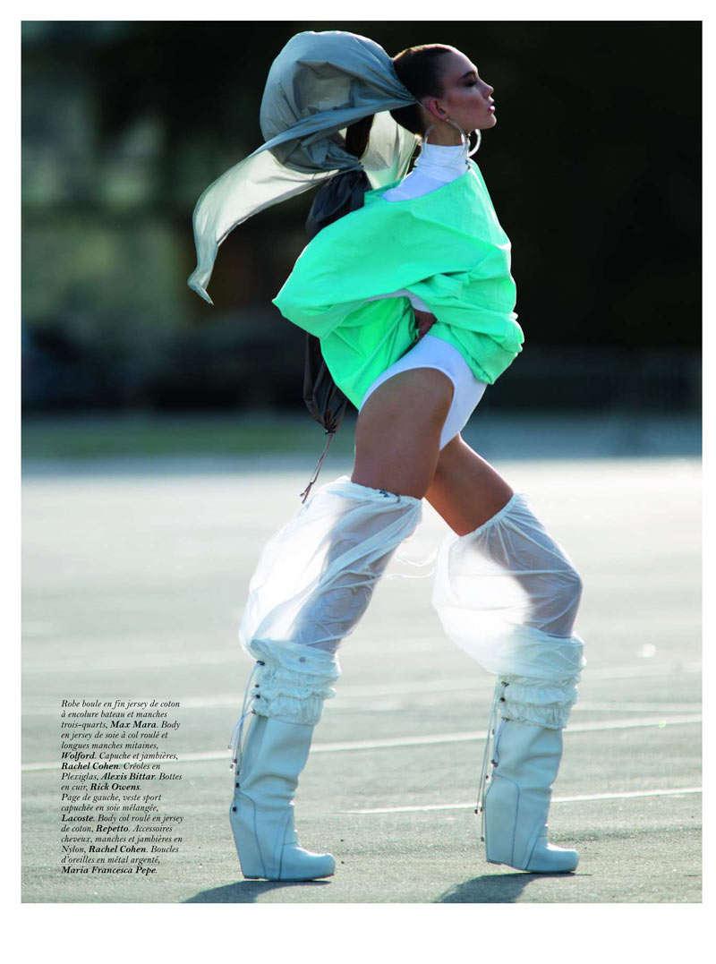 Sporty Raver Editorials