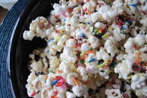 This Birthday Cake Batter Popcorn is a Sweet Take on the Buttered Favorite