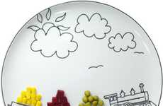 Boguslaw Sliwinski's Plates Encourage Food Play
